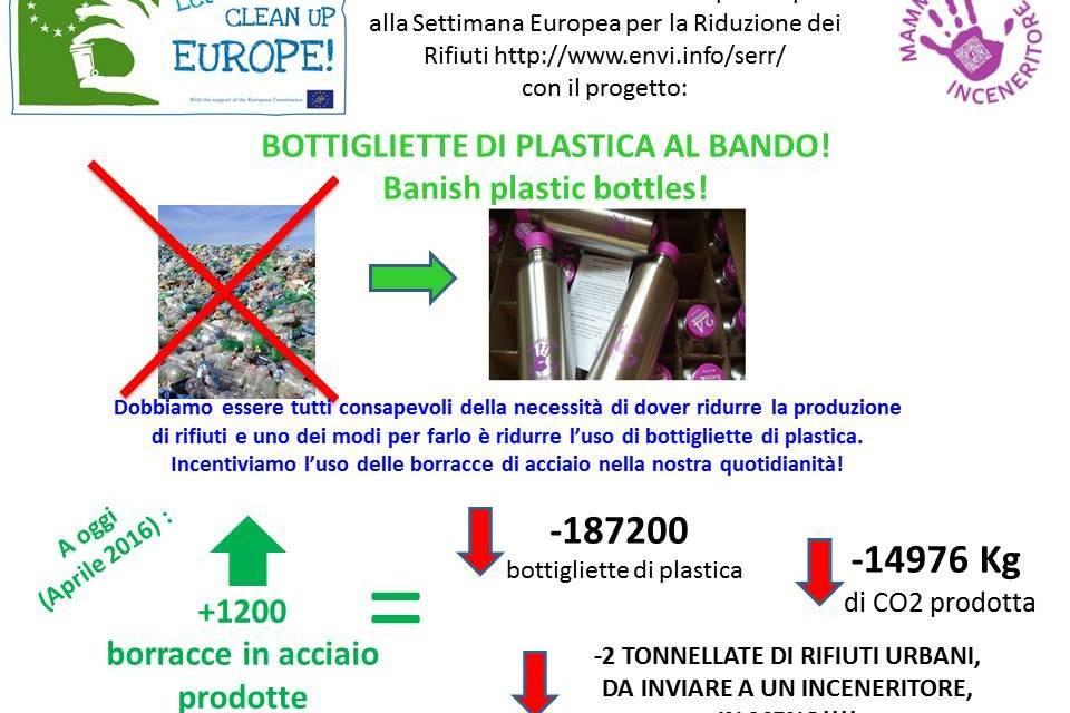 Altre 1000 borracce per l'Earth Day 2016! Le Mamme di Firenze bissano il successo ottenuto per salvaguardare l'ambiente!